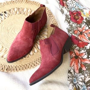 New! Lucky Brand Western Booties